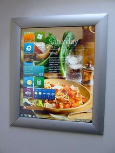 Every wife should have a Kitchen PC (would love to build this for my awesome wife!)
