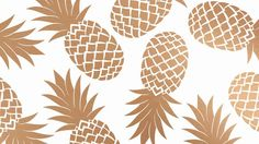 Oh So Lovely Blog: PRETTY PINEAPPLE DESKTOP WALLPAPERS: