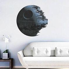 DDU(TM) Durable Noir Earth Star Wars DIY Autocollant Mural Art Decal Décoration de Maison DDU(TM) http://www.amazon.fr/dp/B010WL5B4G/ref=cm_sw_r_pi_dp_2Fspwb11ZKAEW