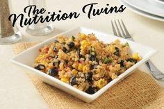 Spinach Black Bean Quinoa