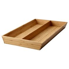 IKEA VARIERA Utensil tray Bamboo 32 x 50 cm Helps you organize things in the drawer. Ikea Drawer Dividers, Ikea Drawers, Drawer Inserts, Kitchen Drawers, Drawer Organisers, Ikea Variera, Utensil Trays, Fibres, Unique Furniture