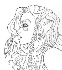 Sailor Moon Coloring Pages, Cute Coloring Pages, Coloring Sheets, Coloring Books, Tattoo Drawings, Cute Drawings, Hair Drawings, Printable Adult Coloring Pages, Aesthetic Desktop Wallpaper