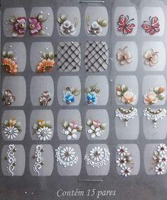 Art Ideas, Nail Art, Rose, Nail Stickers, Flower Nails, Nail Design, Nail Jewels, Fairy, Mariana