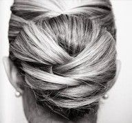 Easy peasy up-do... As long as you can do hair blind-folded! Great for a wedding / party etc.