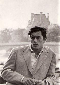Alain Delon, 1950s  vianatalieandalanna