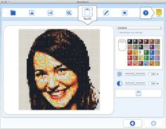 PhotoPearls - Download PhotoPearls software. make your own perler / hama / nabbi bead designs from a picture