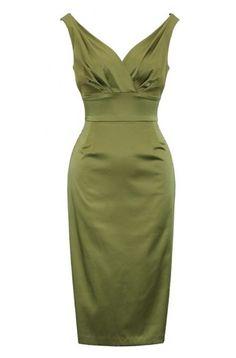 Jasmine Green Stop Staring Dress
