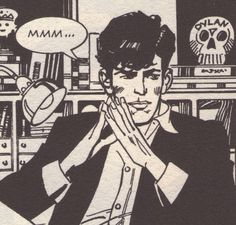 sometime you fall in love.. Dylan Dog