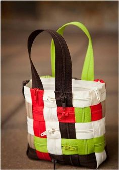 Easy To Make Zipper Bag - Find Fun Art Projects to Do at Home and Arts and Crafts Ideas