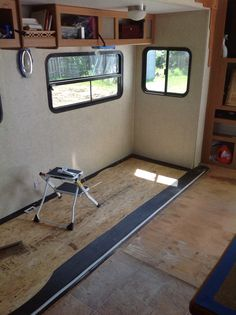 Renovating our 5th Wheel Camper: a DIY