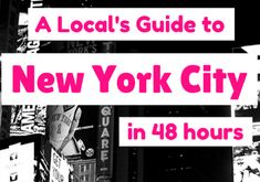 A local's guide to the perfect weekend in New York City for first time visitors. What to see, do and eat if you only have 48 hours in NYC. New York City Attractions, Weekend In Nyc, New York City Travel, Concrete Jungle, Vacation Destinations, New Jersey, First Time, Travel Inspiration, Road Trip