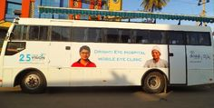 Essilor launches Mobile Refraction Van in association with Drishti #Eye #Hospital. #optometry