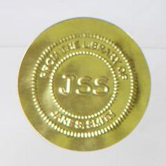 Gold Foil Seals Embossed Gold Foil Seals Pinterest - Custom gold foil stickers