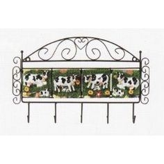 cow kitchen! Farm Kitchen Decor, Kitchen Decorations, Toy Kitchen, Kitchen Themes, Farmhouse Decor, Kitchen Ideas, Cow Ornaments, Cow Decor, Cow Pattern