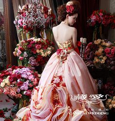 Cang-Ai Wedding >> Evening gowns- picture 05 >> www.cangai.tw