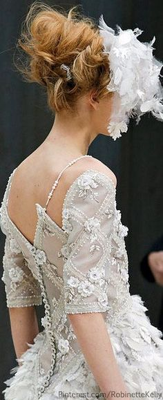 Hermoso - Chanel Haute Couture | S/S 2013