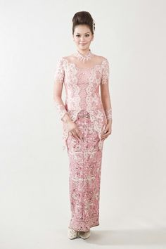 Kebaya Kebaya Pink, Kebaya Lace, Batik Kebaya, Kebaya Dress, Batik Dress, Kebaya Moden, Indonesian Kebaya, Kebaya Wedding, Wholesale Wedding Dresses