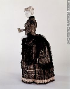 Dress  1883  The McCord Museum