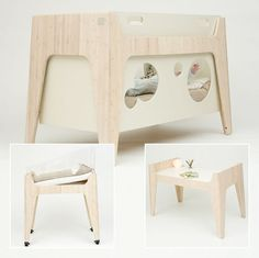 not only is this the coolest cot i have ever seen but also the most ingenious it transforms into an incredibly chic table for when your little darling baby nursery nursery furniture cool coolest