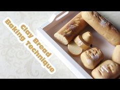 how to: clay bread baking techniques