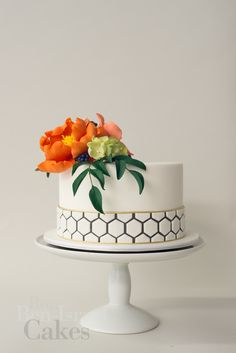 Intricate details of a Ron Ben Israel cake design