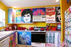 decoupage cabinets - Google Search