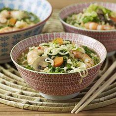 Thai Shrimp Noodle Soup Recipe | MyRecipes.com