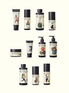 Åland is a multi-brand store from Korea, and they've recently launched  their own cosmetic brand. With package design by Crosspoint Design Studio  and charming illustrations by Yeji Yun, this is a skincare and beauty line  that doesn't just sell the product but also creates an engaging short  story.