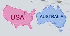 The reason why certain countries looks bigger or smaller than others is because of something called the Mercator Projection. Putting…