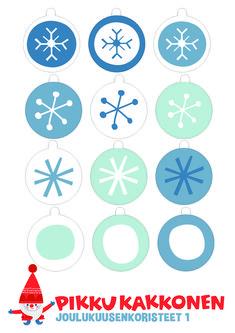 joulukoriste I free printable paper | lasten | lapset | joulu | idea | askartelu | kädentaidot | käsityöt | tulostettava | kuva | paperi | koti | leikki | DIY | ideas | kids | children | crafts | paper | picture | christmas | home | Pikku Kakkonen