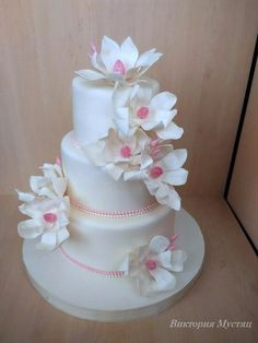 Wedding+cake+-+Cake+by+Victoria