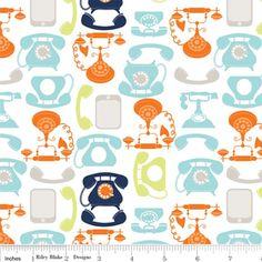 Riley Blake Designs: C3342-WHITE