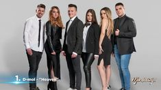 Eurovision Song Contest Montenegro - D mol will represent Montenegro at the 2019 Eurovision Song Contest in Tel Aviv with the song Heaven. Montenegro, Tel Aviv, Ivana, Eurovision Songs, 8 Bit, Coat, Fashion, Singers, Moda