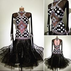 "946 Likes, 4 Comments - Abraham Martinez (@am.abraham_martinez) on Instagram: ""#abrahammartinez #dress #dance #latin #black #cristal #cobalt #swarovski #cristalfringes #design…"""