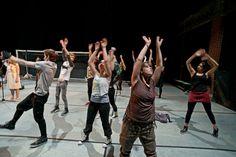 photo credits: Björn Hickmann  Spielzeit: 2014/15 #DieWelle #Jugendclub #StaatstheaterSaarland #Saarland #theater