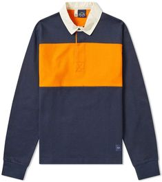 Rugby, Ralph Lauren Shop, Boy Fashion, Mens Fashion, Contrast Collar, Orange Is The New Black, Athletic Fashion, Long Sleeve Polo, Men Looks