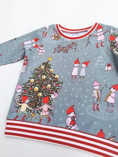 e5ef77bb3 Christmas jumper, Organic baby clothes, Christmas outfit, Unique kids Christmas  T-shirt, Gift for child, First christmas