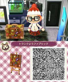 Animal Crossing New Leaf Suitcase QR code