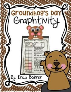 This is a Groundhog's Day graphing and craft activity. The activity is simple, engaging, and makes an easy hallway display. Poll your students using a large whole class graph (graphing pieces and display sign included). Your students will graph based on whether they predict the groundhog will or will not see his shadow.