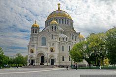 Kronstadt Naval Cathedral in St. Petersburg, Russia