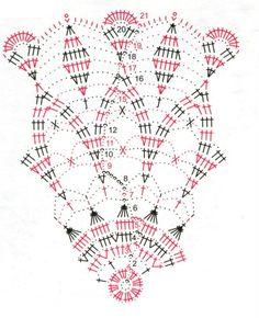Photo from album Free Crochet Doily Patterns, Crochet Doily Diagram, Crochet Circles, Crochet Art, Thread Crochet, Filet Crochet, Crochet Motif, Crochet Shawl, Crochet Stitches