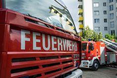 Duisburg: Brand im Übergangsheim für Asylbewerber an der Memelstraße
