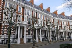 Kensington London, Victorian Architecture, London Calling, Pedestrian, Victorian Homes, Playground, Places To Go, The Neighbourhood, Street View