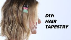When we reported on Bleach London's hair tapestry last year, our Pinterest blew up with repins.