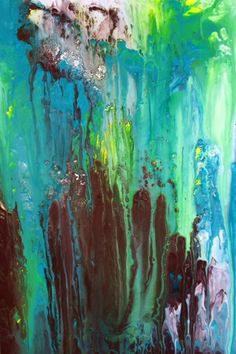 "Emerald City, Acrylic on Canvas, 24""x36"", $750 Laura Melonas Dargan art sold via Charleston Art Brokers"