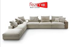 "Sectional L-Corner sofa fully customisable to your expectations that is why we say, Fezmo ""It's your thoughts and our design."" . . . . . . #fezmo #fezmoeazyliving #living #comfort #sofa #furniture #furnituredesign #sofadesign #interior #insperation #interiordesign #art #luxury #home #beautiful #sectional #soft #home #family"