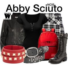Inspired by Pauley Perrette as Abby Sciuto on NCIS.