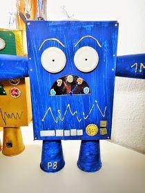 Ines Felix - Kreatives zum Nachmachen: Mein kleiner Roboter