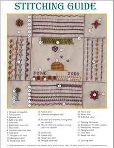Make an Embroidery Sampler