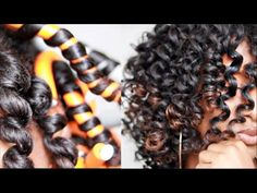 How To: Perfect Flexi Rod Set on Natural Hair + Giveaway! How To: Perfect Flexi Rod Set on Natural H Natural Curls, Natural Hair Care, Natural Hair Styles, Flexi Rods, Flexi Rod Curls, Wand Curls, Mahal Kita, Perm Rod Set, Natural Hair Tutorials
